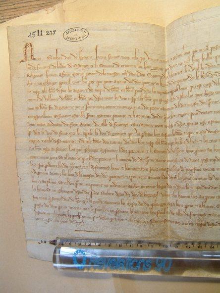 Dijon, Archives départementales de la Côte d'Or, 15 H 257 (10)